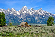 Grand Tetons Framed Prints - Mormon Row Framed Print by Greg Norrell