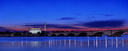 Night Framed Prints - Morning Along The Potomac Framed Print by Metro DC Photography