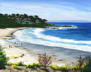 Colleen Ward - Morning Beach Walk