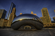Cloud Gate Posters - Morning Bean Poster by Sebastian Musial