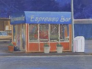 Espresso Pastels - Morning Coffee by Carol Thompson