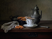 Morning Coffee  Print by Helen Tatulyan
