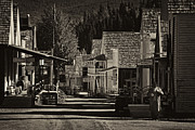Barkerville Photos - Morning Coffee by Inge Riis McDonald
