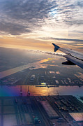 Jenny Rainbow - Morning Flight over Netherlands 1