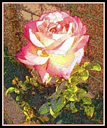 Garden Scene Metal Prints - Morning Fragrance Metal Print by Glenn McCarthy Art and Photography