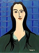 Modigliani Originals - Morning Girl by Bisai Ya