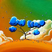 Tree Paintings - Morning Glory by Cindy Thornton