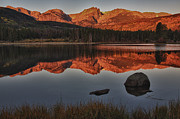 Rocky Mountain National Park Photos - Morning Glow by Josh Baker
