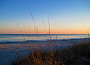 Cold Morning Sun Prints - Morning has broken at Myrtle Beach South Carolina Print by Susanne Van Hulst