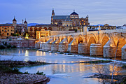 Travel Sightseeing Prints - Morning in Cordoba Print by Artur Bogacki