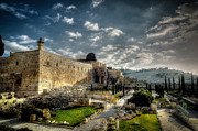 Muslim Posters - Morning in Jerusalem HDR Poster by David Morefield