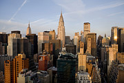 Chrysler Building Photos - Morning in Manhattan by Diane Diederich
