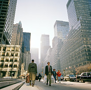Ambition Prints - Morning In Manhattan Print by Shaun Higson