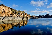 Watson Lake Photos - Morning Light by Jag Fergus
