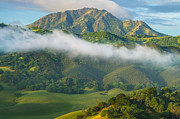 Costa Framed Prints - Morning Light On Mt Diablo Framed Print by Marc Crumpler