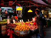 Photography Of Woman Prints - Morning market Print by Ivy Ho