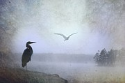 Thomas Vanselus Digital Art - Morning Mist Along The Masagee by The Stone Age