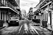 Louisiana Artist Prints - Morning on Bourbon Street Print by John Rizzuto