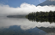 Slovenia Photos - Morning on Lake Bohinj by Joe Bonita