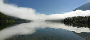 Slovenia Photos - Morning on Lake Bohinj No. 2 by Joe Bonita