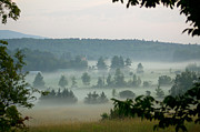 Country Cottage Photo Originals - Morning on Ray Hill Rd by Joe Geraci