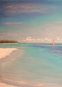 Relaxing Pastels - Morning On The Beach by The Beach  Dreamer