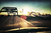 Green Bay Prints - Morning On The Leo Frigo Bridge Print by Shutter Happens Photography