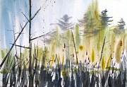 Morning On The Marsh Print by Marc L Gagnon