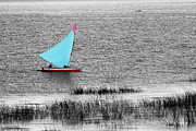James Brunker Metal Prints - Morning Sail Metal Print by James Brunker