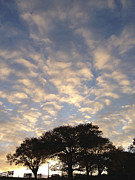 Beautiful Art - Morning sky by Les Cunliffe