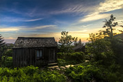 Barns Posters - Morning Sky Over Mt. LeConte Poster by Debra and Dave Vanderlaan