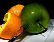Orange Photos - Morning Snack 2 by Cecil Fuselier