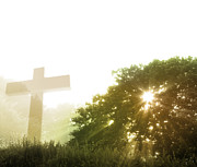 Christian Prayer Photos - Morning spirit by Les Cunliffe
