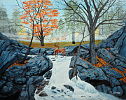 Fishing Creek Prints - Morning Splendor Print by Jeff McJunkin