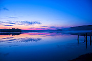 Conservation Art Poster Posters - Morning Sunrise-Lake of Two Rivers Poster by Teague Chrustie