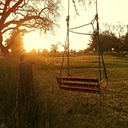 California Art - Morning Swing by CML Brown