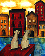Debi Hubbs - Morning Venice Dog Pet...