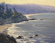 Heisler Park Paintings - Morning View Heisler Park by Joe Mancuso