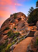 Moro Rock Path Print by Inge Johnsson