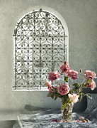 Window Seat Prints - Moroccan Rose Print by Linde Townsend