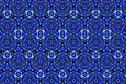 Moroccan Digital Art Framed Prints - Moroccan Textile Pattern Framed Print by Hakon Soreide