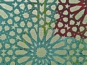 Moroccan Tile Design Print by Karim Baziou