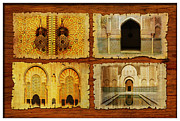 Site Of Framed Prints - Morocco Heritage Poster 01 Framed Print by Catf