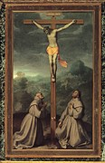 Crucifixion Photos - Moroni Giovan Battista, Crucifix by Everett