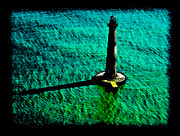 Arial View Art - Morris Island Lighthouse by Doug DeLong