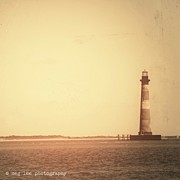 Lighthouse Photos - Morris Island Lighthouse by Meg Lee Photography