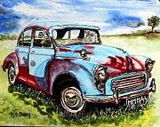 Maria Barry - Morris Minor