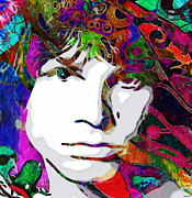 Jim Morrison Prints - Morrison Print by Catherine Harms