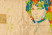 Jim Morrison Digital Art - Morrison Watercolor Splash by Paulette Wright