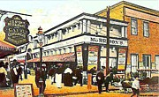 Architecture Jewelry Metal Prints - Morrisons Theatre In Rockaway Beach Queens N Y 1912 Metal Print by Dwight Goss